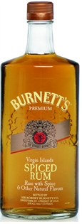 Burnett's Rum Spiced 750ml - Case of 12
